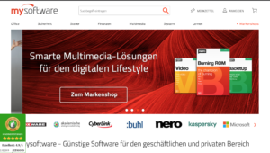 mysoftware Onlineshop