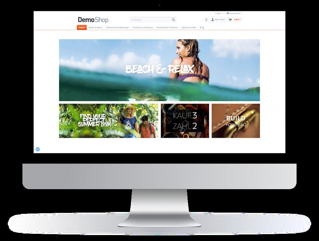 Shopware Onlineshop Beispiel